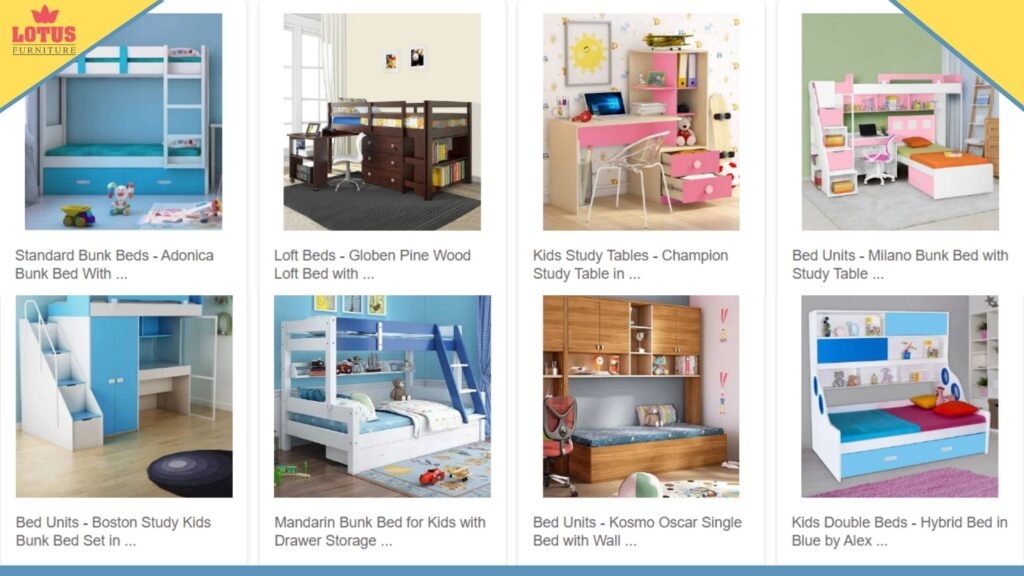 Lotus furniture- the best kids furniture shop in Patna