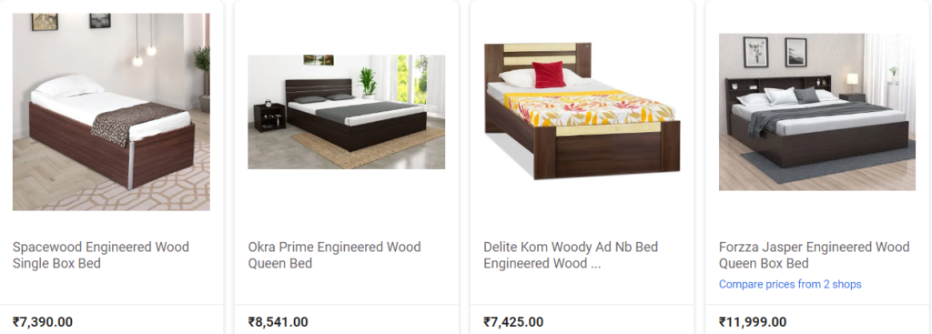 Single Bed Price